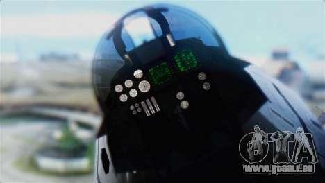 F-14D Super Tomcat Polish Navy pour GTA San Andreas vue arrière