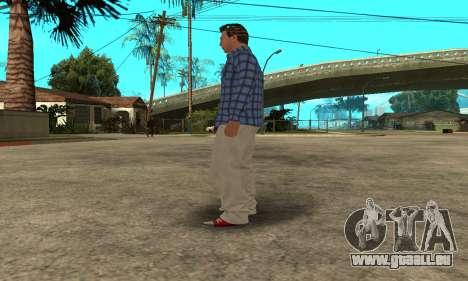 Skin Claude [HD] pour GTA San Andreas huitième écran
