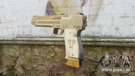 Desert Eagle Skin from GTA 5 für GTA San Andreas zweiten Screenshot