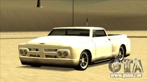 Slamvan Final pour GTA San Andreas vue de dessus
