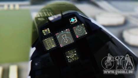 F-15DJ (E) JASDF Aggressor 32-8081 für GTA San Andreas rechten Ansicht