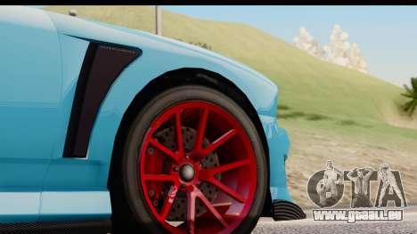 GTA 5 Bravado Buffalo S Sprunk pour GTA San Andreas vue intérieure