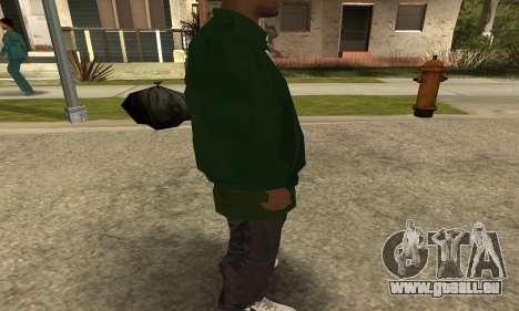 Groove St. Nigga Skin First pour GTA San Andreas cinquième écran