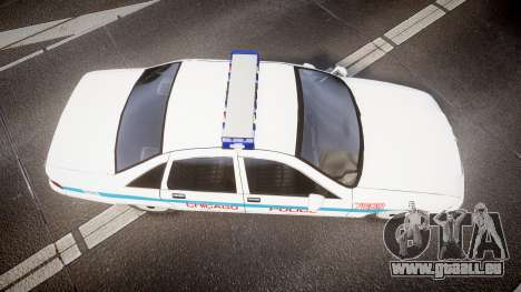 Chevrolet Caprice Chicago Police [ELS] für GTA 4 rechte Ansicht