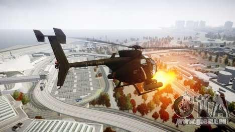 AH-6 Little Bird für GTA 4 linke Ansicht