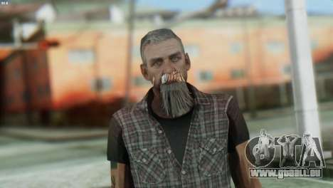 Biker Skin from GTA 5 für GTA San Andreas dritten Screenshot