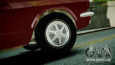 Ford Mustang 1965 pour GTA 4 Vue arrière de la gauche