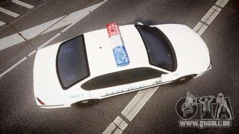 Chevrolet Impala Metropolitan Police [ELS] Pat pour GTA 4 est un droit