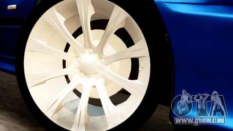 BMW 540i E39 pour GTA San Andreas vue de droite