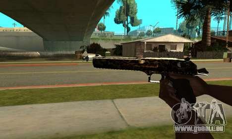 Leopard Deagle pour GTA San Andreas deuxième écran