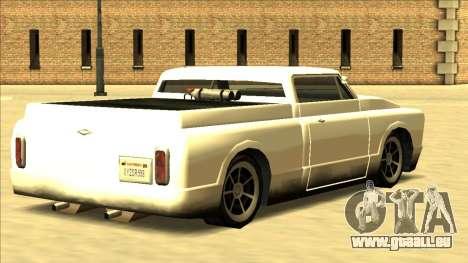 Slamvan Final pour GTA San Andreas vue intérieure