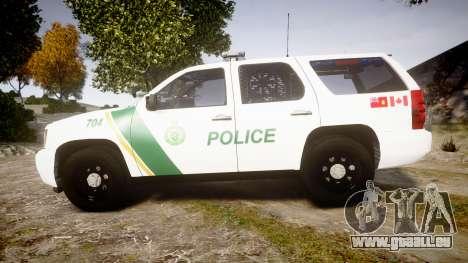 Chevrolet Tahoe Niagara Falls Parks Police [ELS] für GTA 4 linke Ansicht