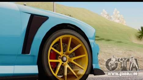 GTA 5 Bravado Buffalo S Sprunk für GTA San Andreas Seitenansicht