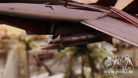 F-14A Tomcat IRIAF für GTA San Andreas rechten Ansicht