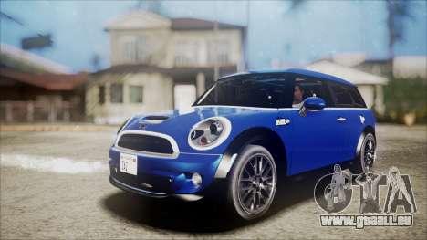 Mini Cooper Clubman 2011 Sket Dance für GTA San Andreas