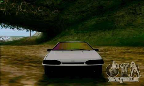 2114 Ala Dubaï pour GTA San Andreas vue arrière