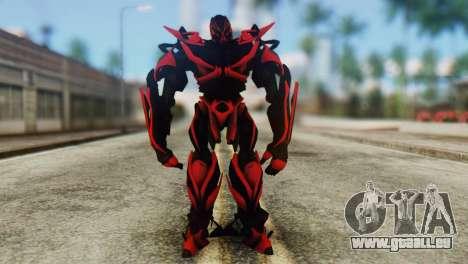 Stinger Skin from Transformers pour GTA San Andreas deuxième écran