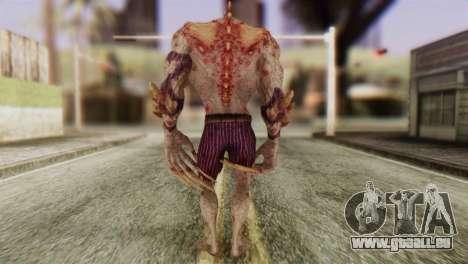 Titan Powered Joker from Batman Arkham Asylum pour GTA San Andreas troisième écran