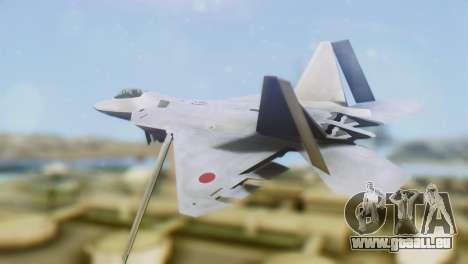 F-15DJ (E) JASDF Aggressor 32-8081 für GTA San Andreas linke Ansicht