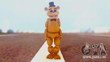 Golden Freddy v2 pour GTA San Andreas deuxième écran