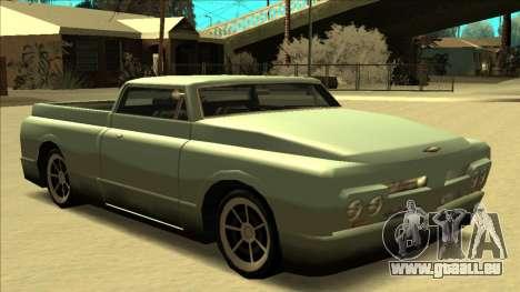 Slamvan Final für GTA San Andreas Motor