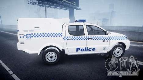 Toyota Hilux NSWPF [ELS] pour GTA 4 est une gauche