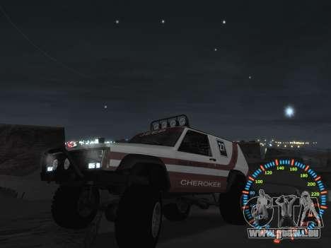 Simple compteur de vitesse pour GTA San Andreas huitième écran