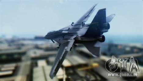 F-14D Super Tomcat Halloween Pumpkin für GTA San Andreas linke Ansicht