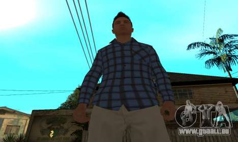Skin Claude [HD] pour GTA San Andreas quatrième écran