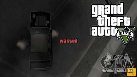 GTA V Wasted and Busted Sound [CLEO] für GTA San Andreas