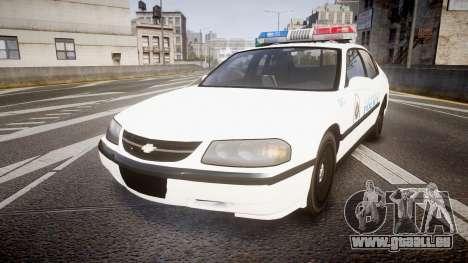 Chevrolet Impala Metropolitan Police [ELS] Pat für GTA 4