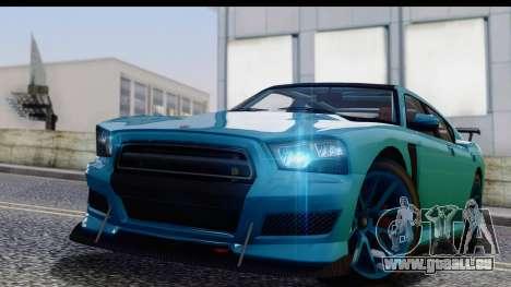 GTA 5 Bravado Buffalo S Sprunk pour GTA San Andreas sur la vue arrière gauche