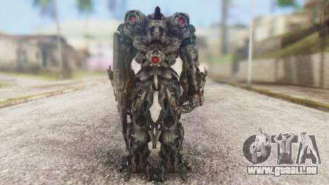 Shockwave Skin from Transformers v1 für GTA San Andreas dritten Screenshot