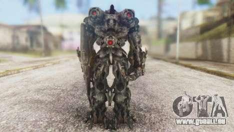 Shockwave Skin from Transformers v1 für GTA San Andreas dritten Screenshot