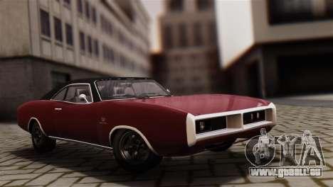 GTA 5 Imponte Dukes IVF für GTA San Andreas zurück linke Ansicht