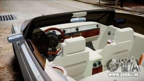 Rolls-Royce Phantom Coupe 2009 pour GTA 4 est un droit