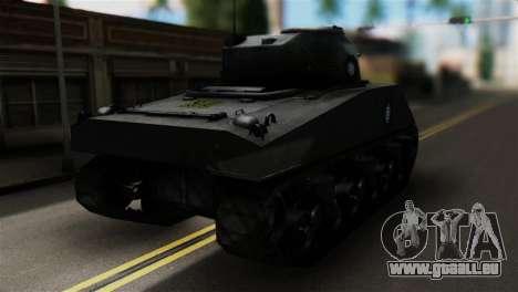 M4 Sherman Gawai Special pour GTA San Andreas laissé vue