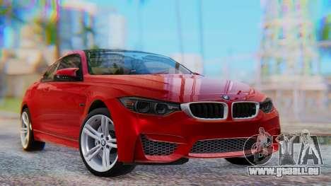 BMW M4 2015 HQLM für GTA San Andreas