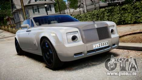Rolls-Royce Phantom Coupe 2009 pour GTA 4