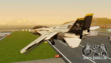 F-14A Tomcat VF-202 Superheats pour GTA San Andreas laissé vue