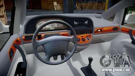 Daewoo Tacuma 2001 für GTA 4 Rückansicht