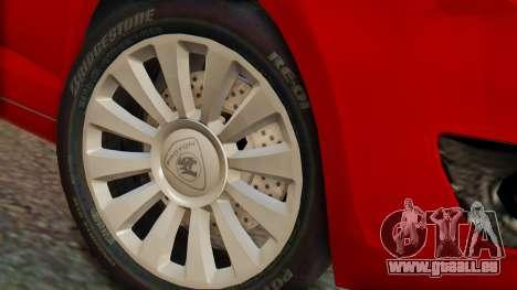 Proton Suprima S pour GTA San Andreas vue de droite