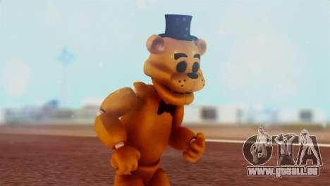 Golden Freddy v2 pour GTA San Andreas
