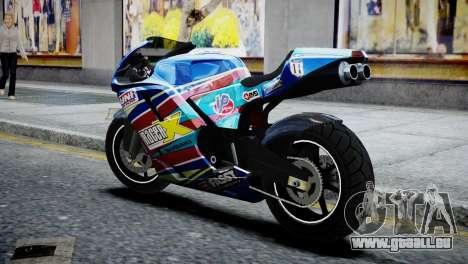 Bike Bati 2 HD Skin 2 für GTA 4 linke Ansicht