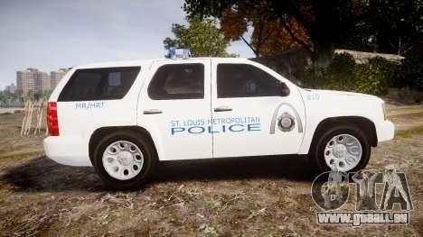 Chevrolet Tahoe Metropolitan Police [ELS] pour GTA 4 est une gauche