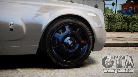 Rolls-Royce Phantom Coupe 2009 pour GTA 4 Vue arrière de la gauche