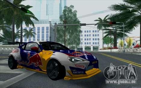 Toyota GT86 Red Bull für GTA San Andreas