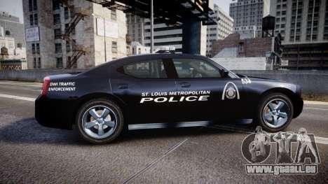 Dodge Charger Metropolitan Police [ELS] für GTA 4 linke Ansicht