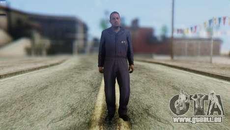 Uborshik Skin from GTA 5 pour GTA San Andreas