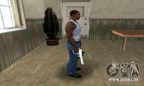 Tiger Deagle pour GTA San Andreas troisième écran